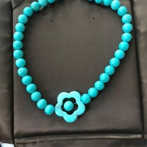 Handmade Necklaces with natural stones.